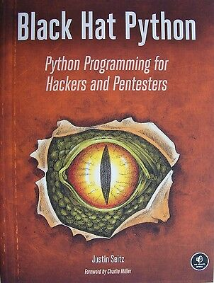 NEW ~ BLACK HAT PYTHON~ Python Programming for Hackers and Pentesters