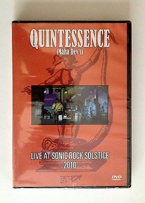 QUINTESSENCE     DVD  Live at Sonic Rock Solstice    Region: 0   New  &   Sealed