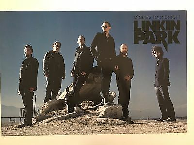 Linkin Park,photo By James R Minchin Authentic,licensed 2007 Poster
