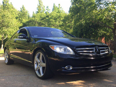 2008 Mercedes-Benz CL-Class Base Coupe 2-Door 600 amg v12 dealer serviced luxury turbo coupe cl600 rare exotic
