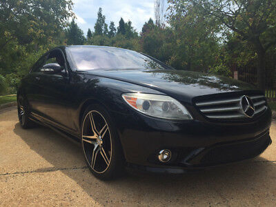 2008 Mercedes-Benz CL-Class Base Coupe 2-Door low mile free shipping warranty florida luxury clean carfax dealer service sport