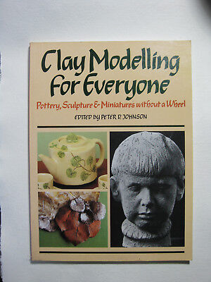 clay modeling for everyone , A4 paperback, excelenc craft resorce for teaching