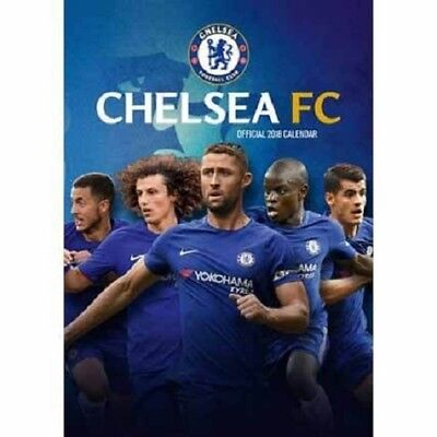 2018 A3 Official Chelsea Fc Calendar, Football Wall Calender