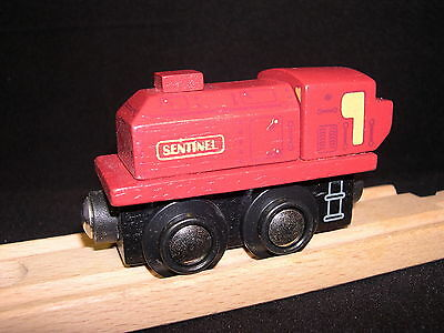Big Jigs Rail Heritage Collection Train Sentinel compatiable w/ Brio and Thomas