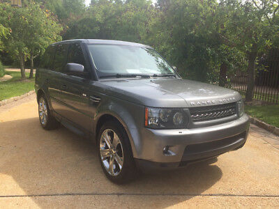 2011 Land Rover Range Rover Sport HSE Sport Utility 4-Door clean carfax dealer serviced free shipping warranty cheap luxury 4x4 loaded