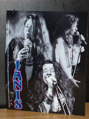 "Janis Joplin Collage Sticker New Officially Licensed 4"" X 5"""