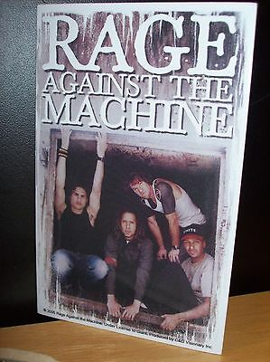 Rage Against The Machine Band Photo Sticker New Rare Officially Licensed