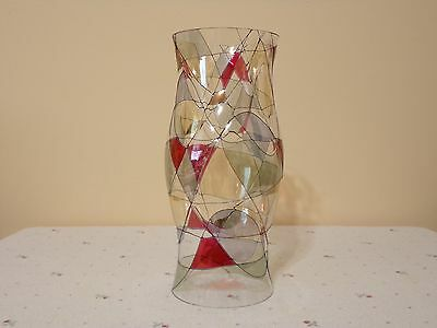 Partylight Mosaic Stained Glass Hurricane Candle Shade