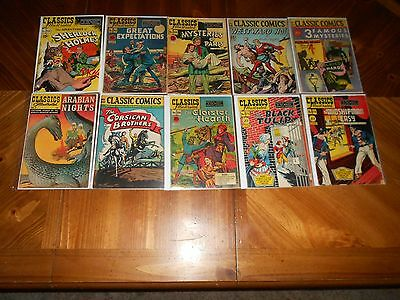 Classics Illustrated Comics Lot A  Complete Set Of 169 In Great Shape  Must See
