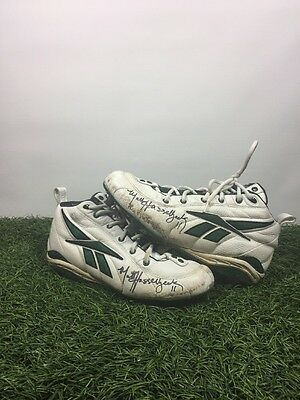 Matt Hasselbeck Game Used Autographed Seahawks Packers Colts Cleats