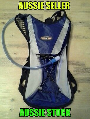 2 pack 2 litre hydration backpack and bladder 2ltr camel