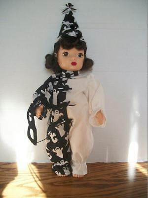 """clara Boo""   Clown Costume For 16""  Terri Lee  Doll"