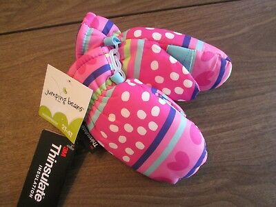 NWT 3M Thinsulate girls mittens Size 2T-4T