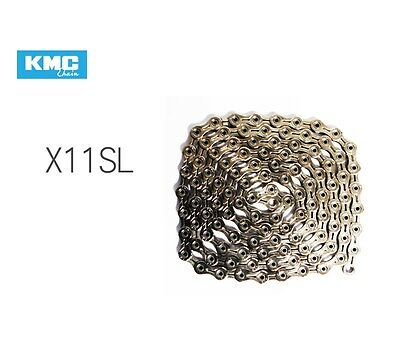 KMC X11SL 11 Speed 114 Links Gold/Silver with Missing Link (OEM Package)
