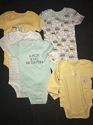 ***Brand New !!!*** Gender Neutral Baby Clothes - 18-24m Bodysuits Lot