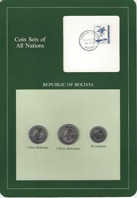 Coin Sets of All Nations, Bolivia