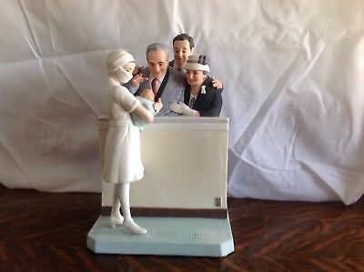 """Vintage 1981 Norman Rockwell Museum Inc. Figurine """"New Arrival"""""""