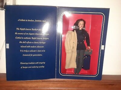 1996 Bloomingdale's Ralph Lauren Limited Edition Barbie Doll In Original Box new