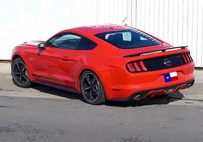 "Ford Mustang Coupe 2015+ 3-Post Custom Rear Spoiler ""California Special""  Primer"