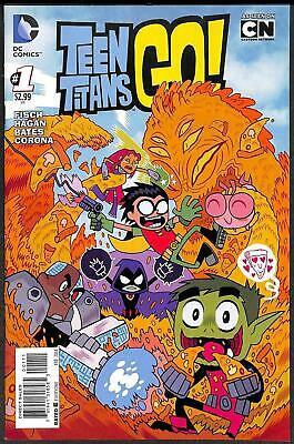 Teen Titans Go! #1 (Vol 2)