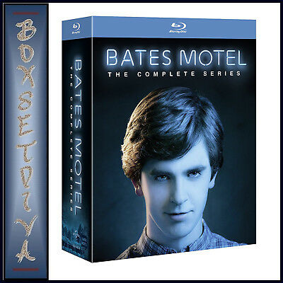 Bates Motel - The Complete Series - Seasons 1 2 3 4 & 5  *brand New Blu-Ray