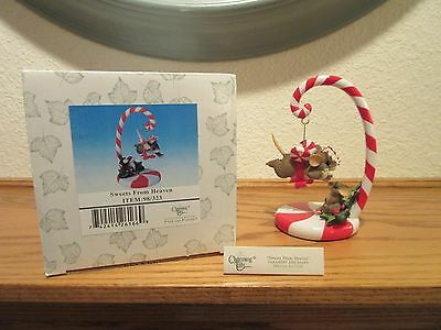 Charming Tails Sweets From Heaven Ornament & Stand Special Edition