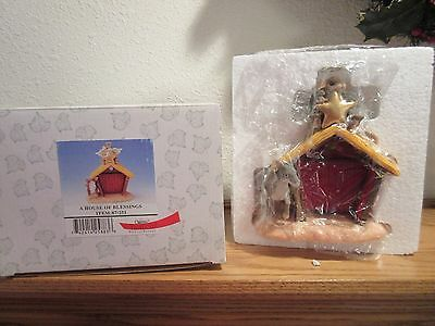 Charming Tails A House of Blessings Figurine NIB