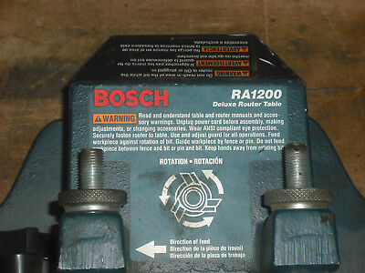 Bosch RA1200 Aluminum Fence for Cabinet Style Router Table