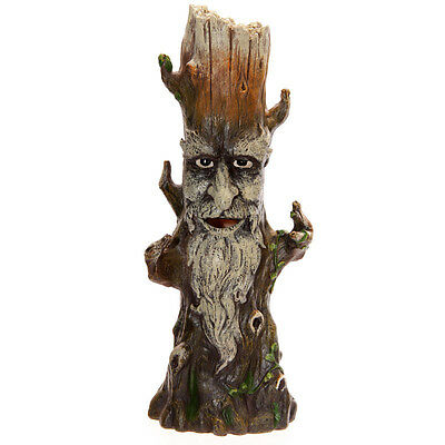 Tree Man Incense Burner - Green Man - Ent King - Pagan Incense Stick Burner