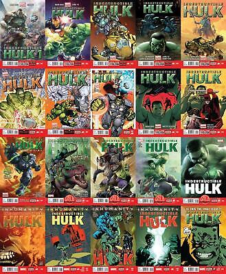 Indestructible Hulk #1-20 + Annual + Special Complete Set