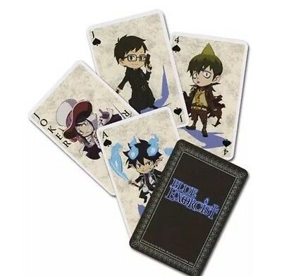 Blue Exorcist Playing Cards Anime Manga POKER AUTHENTIC LICENSED BRAND NEW