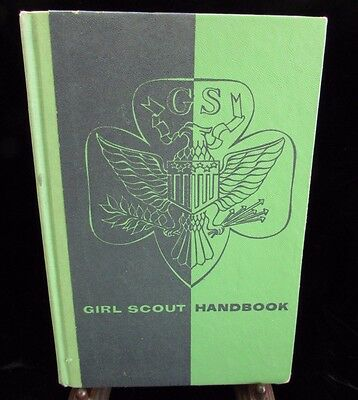 Girl Scout Handbook Intermediate Program Hardcover 1958 Eighteenth Impression