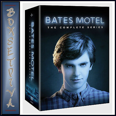 Bates Motel - The Complete Series - Seasons 1 2 3 4 & 5 *brand New Dvd Boxset*
