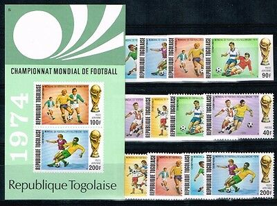 Togo.1974 World Cup.Soccer.Football.Fussball.A+B.MNH.**