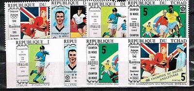 Chad.1970 World Cup.Soccer.Football.Fussball.A & B.MNH**