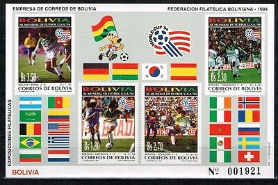 Bolivia.1994 World Cup.Soccer.Football.Fussball.MNH**