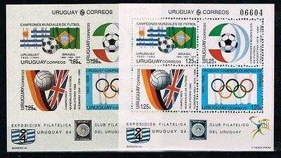 Uruguay.1994 World Cup.Soccer.Football.Fussball.A&B.MNH**