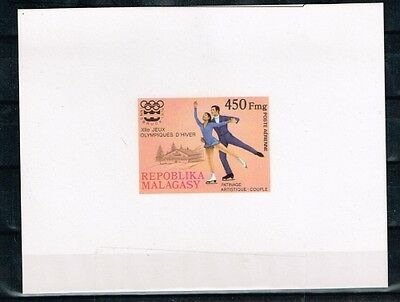 Malagasy.1976 Insbruck Winter Olympics Game.Imperforated.MNH**