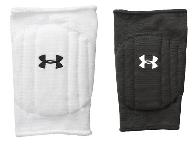New Under Armour Volleyball Knee Pads 2Pc Unisex Black or White(1218126-001/100)