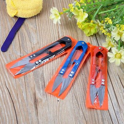 Portable Mini Thrum Sewing Scissors Embroidery Tool Snips Thread Cutter 1Pcs