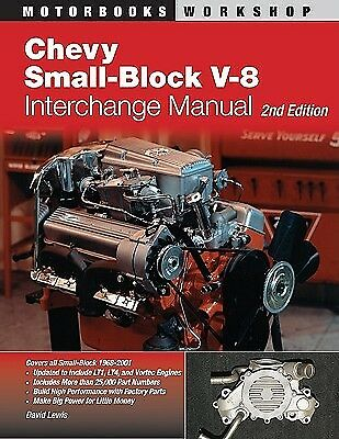 Chevy Small-Block V-8 Interchange Manual by Lewis, David -Paperback