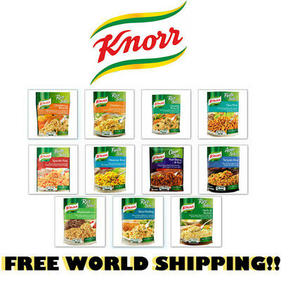 Knorr Rice Side Seasonings Flavor Package Meal Prep Many Flavors Free Shipping