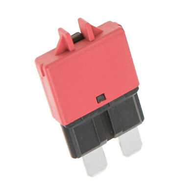 2pcs Automatic Resettable Fuse Auto Marine Circuit Breaker Blade 10A 20A 12V