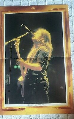 Motorhead / Meat Loaf Doble Poster Magazine Popular 1 80's 70's