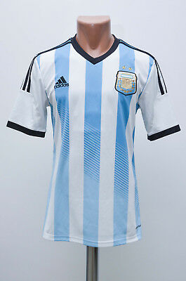 Size S Argentina 2014/2015 Home Football Shirt Jersey Maglia Adidas