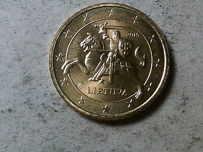 Lithuania  50 cents 2015 Kight rider