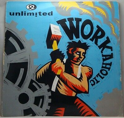 """2 Unlimited Workaholic 12"""""""