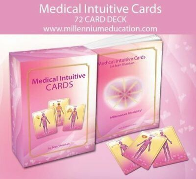 Medical Intuitive Flash Cards by Jean Sheehan
