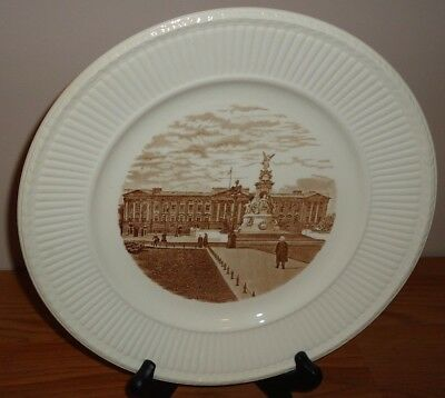 Wedgwood Old London Views BUCKINGHAM PALACE Vintage 1941 Plate 1st Ed.