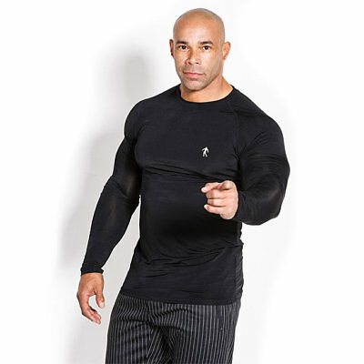 Kevin Levrone - Long Sleeve Man's Black, Longsleeve, Long T-Shirt